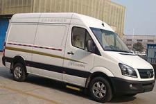 卡威牌JNQ5040XXYBEV3型纯电动厢式运输车