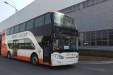 11.4米|10-60座中国中车混合动力双层城市客车(TEG6111EHEV01)
