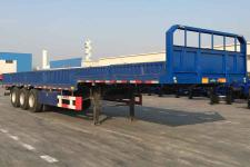 中集牌ZJV9382QD型栏板式运输半挂车图片