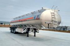 程力威牌CLW9409GYYLV型铝合金运油半挂车