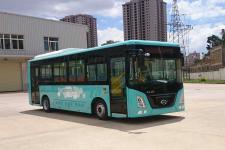 长江牌FDE6850PBABEV02型纯电动城市客车