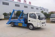 国五东风多利卡摆臂式垃圾车