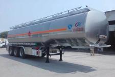 程力威牌CLW9408GYYLV型铝合金运油半挂车