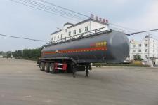 特运牌DTA9407GFWC型腐蚀性物品罐式运输半挂车
