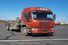 解放牌CA4250P2K15T1NE5A82型平头天然气牵引车图片