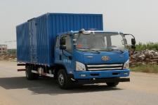 解放牌CA5121XXYP40K2L2E5A84型厢式运输车图片