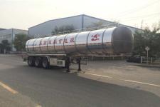 昌骅牌HCH9402GYS35型铝合金液态食品运输半挂车图片