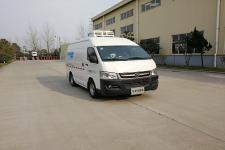大马牌HKL5040XLCBEV型纯电动冷藏车图片