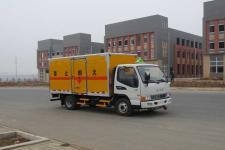 江特牌JDF5070XRQHFC5型易燃气体厢式运输车
