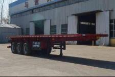 广通达牌JKQ9400ZZXP型平板自卸半挂车
