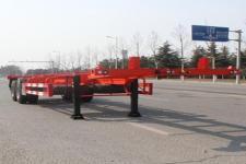 五岳牌TAZ9355TJZA型集装箱运输半挂车图片