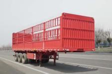 齐鲁宏冠牌GHG9402CCY型仓栅式运输半挂车图片