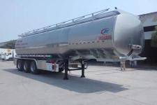 程力威牌CLW9400GSYLV型铝合金食用油运输半挂车