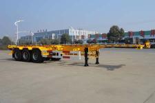 华威驰乐牌SGZ9403TJZ型集装箱运输半挂车图片