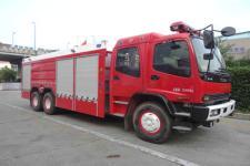 银河牌BX5240GXFPM110/W4型泡沫消防车图片