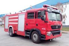 金猴牌SXT5192GXFPM75型泡沫消防车图片