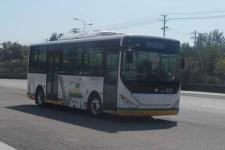 中通牌LCK6809EVGM型纯电动城市客车图片