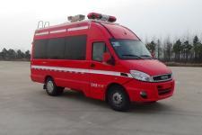 光通牌MX5042TXFTZ1000型通信指挥消防车图片