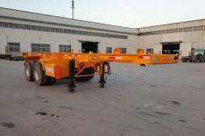 广通达牌JKQ9351TJZ型集装箱运输半挂车图片