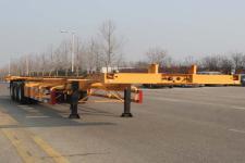 五岳牌TAZ9405TJZB型集装箱运输半挂车图片