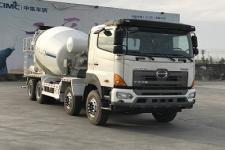 中集牌ZJV5312GJBJMA型混凝土搅拌运输车图片