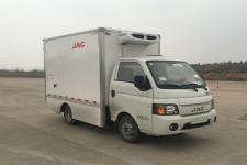 江淮牌HFC5031XLCPV4EV5B3型纯电动冷藏车图片