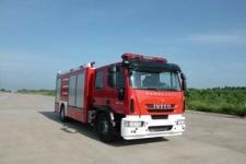 海潮牌BXF5170GXFSG60/YW型水罐消防车