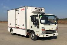 江淮牌HFC5061XLCP73EV3C5型纯电动冷藏车图片