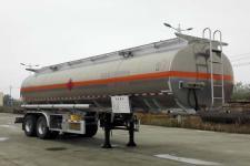 楚胜11.1米29.8吨2轴铝合金运油半挂车(CSC9354GYYLC)