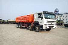 三力牌CGJ5311ZWX型污泥自卸车图片