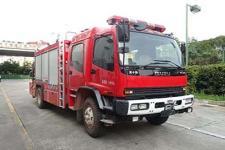 银河牌BX5120TXFJY162/W4型抢险救援消防车图片