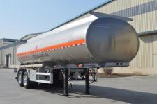 金碧9.7米24.4吨2轴铝合金运油半挂车(PJQ9290GYYL)