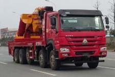 国五重汽前四后八160吨起重运输车13607286060