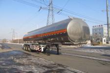 陆平机器牌LPC9407GYYSA型铝合金运油半挂车图片