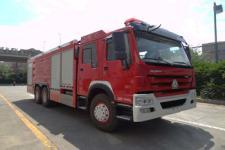 银河牌BX5330GXFPM160/HW4型泡沫消防车图片