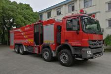 上格牌SGX5380GXFPM180型泡沫消防车