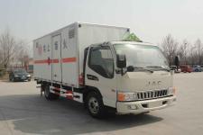 御捷马牌YJM5042XRQ型易燃气体厢式运输车图片