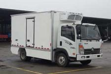 通途牌CTT5071XLCGW1BEV型纯电动冷藏车