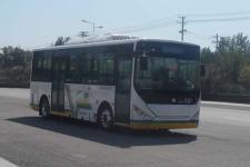 中通牌LCK6809EVGT型纯电动城市客车图片