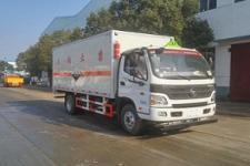 程力威牌CLW5122XFWB5型腐蚀性物品厢式运输车