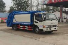 程力威牌CLW5080ZYSH5型压缩式垃圾车