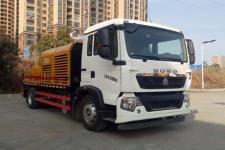 三一牌SYM5161THBE型车载式混凝土泵车