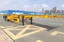 中集牌ZJV9352TJZSZB型集装箱运输半挂车图片