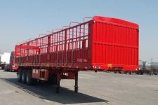 郓腾12米33.3吨3轴仓栅式运输半挂车(HJM9400CCY)