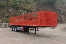 柳特神力牌LZT9400CCYA92型仓栅式运输半挂车
