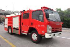 银河牌BX5100GXFPM36/W4型泡沫消防车图片