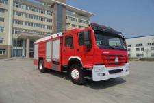 银河牌BX5190GXFPM80/HW4型泡沫消防车图片