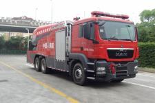 上格牌SGX5280GXFWP70型涡喷消防车