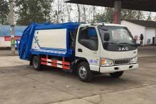 程力威牌CLW5070ZYSH5型压缩式垃圾车