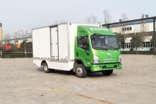 陕汽牌SX5070XXYBEV331L型纯电动厢式运输车图片